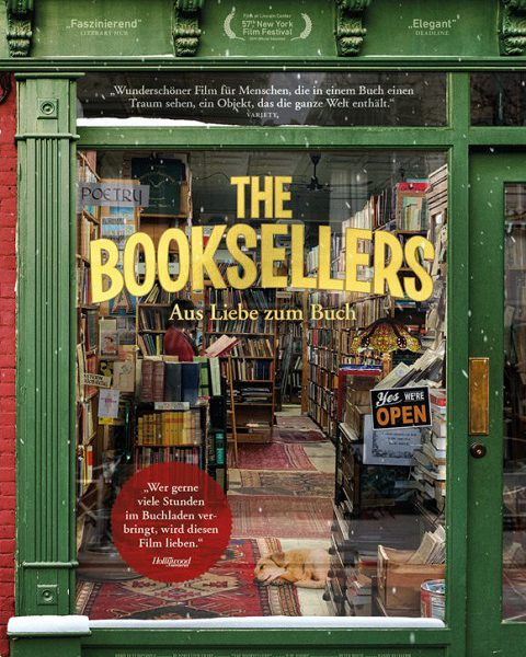 Filmempfehlung: THE BOOKSELLERS